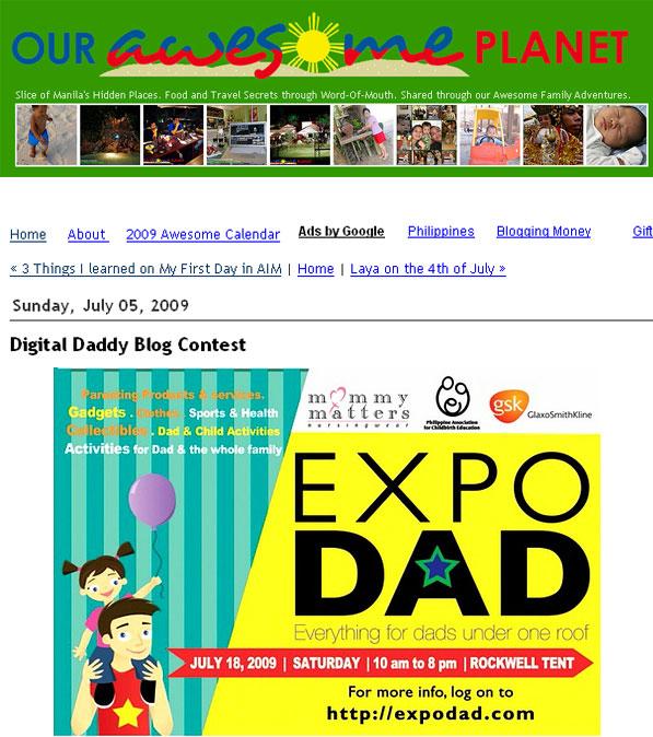 Daddyblog