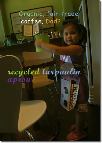Recycledtarpaulinapron
