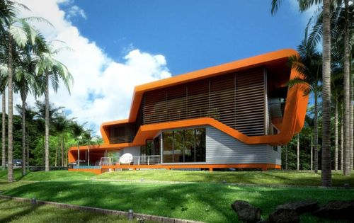 Modern Architecture In The Philippines modern eco home asia - learning and living the green life in the