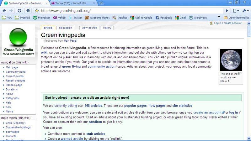 Greenlivingpedia