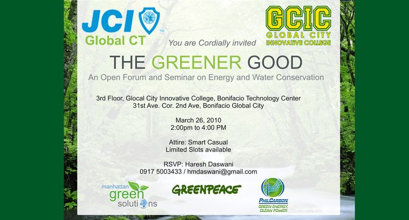 Greenergoodforum