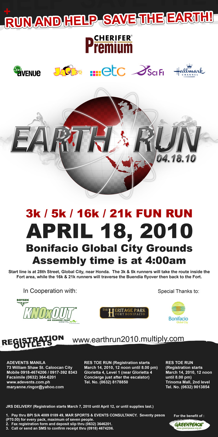 Earth run