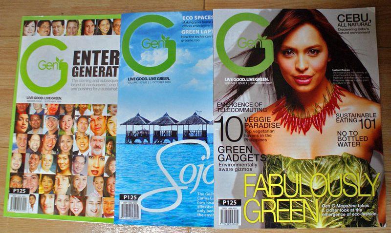Gen G magazine