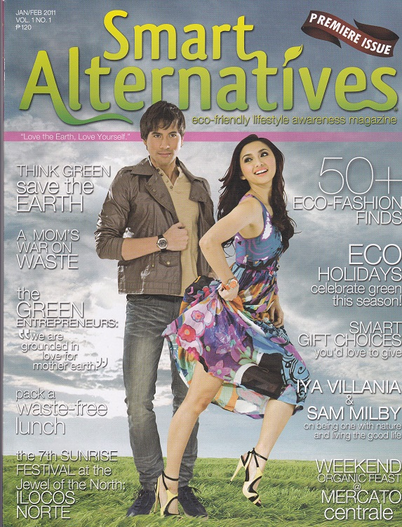 Alternative green magazines