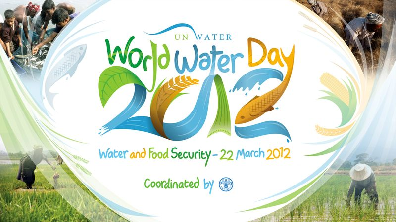 World water day 2012 save water